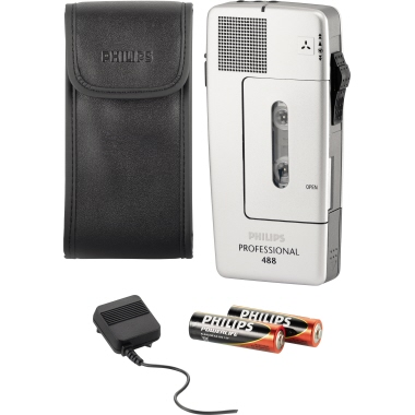 Philips Diktiergerät Pocket Memo® 488 Professional