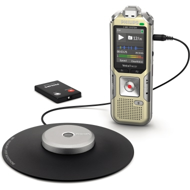 Philips Diktiergerät Digital Voice Tracer DVT 8010
