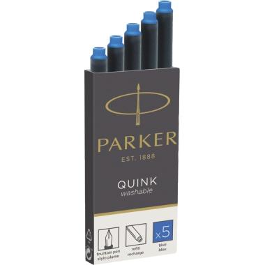 Parker Tintenpatrone QUINK  auswaschbar
