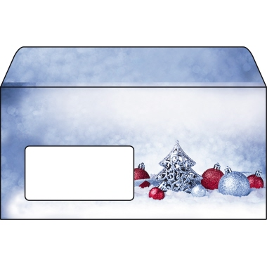 Sigel Briefumschlag DIN lang  mit Fenster 25 St./Pack.