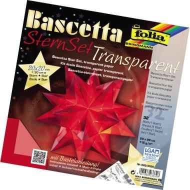 folia® Bastelset Origami Stern  20 x 20 cm (B x H)