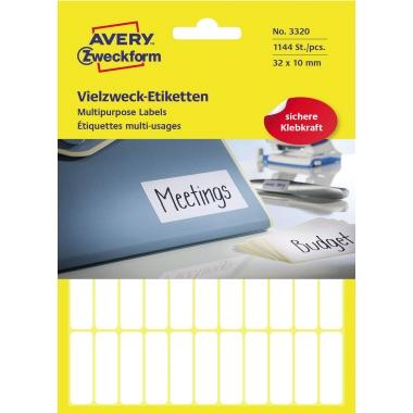 Avery Zweckform Universaletikett  1.144 Etik./Pack.