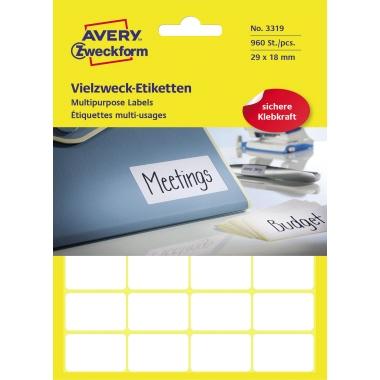 Avery Zweckform Universaletikett 960 Etik./Pack.