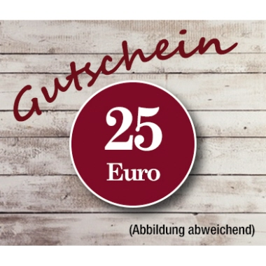 Gutschein  25 Euro
