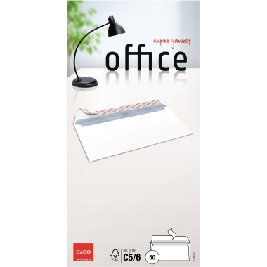 ELCO Briefumschlag Office  DIN lang+ 50 St./Pack.