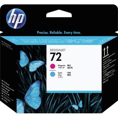 HP Druckkopf 72  cyan/magenta