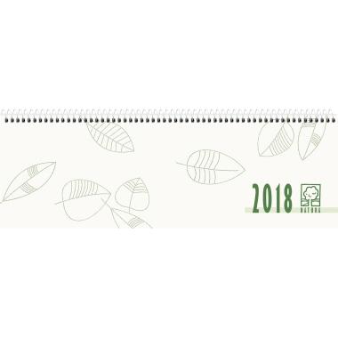 ZETTLER Schreibtischquerkalender  Recyclingkarton