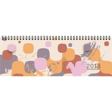 ZETTLER Schreibtischquerkalender  32 x 11 cm (B x H) bunt