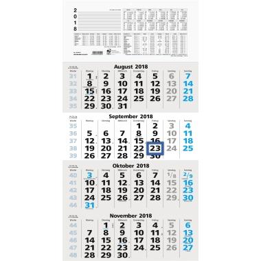 ZETTLER Wandkalender  weiß/grau