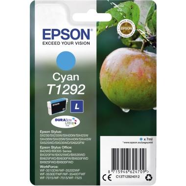 Epson Tintenpatrone  T1292 cyan