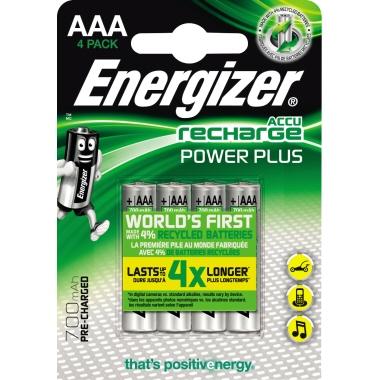 Energizer® Akku Recharge Power Plus  Micro/AAA