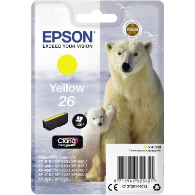 Epson Tintenpatrone  26 gelb