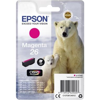 Epson Tintenpatrone  26 magenta