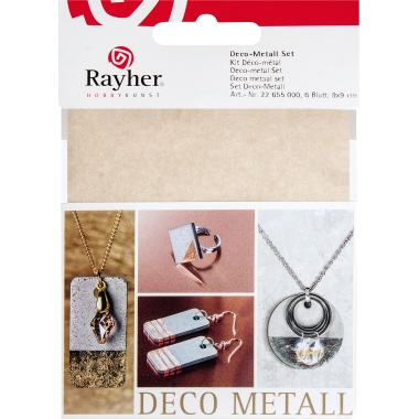 RAYHER Schlagmetall Set