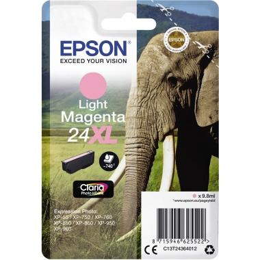 Epson Tintenpatrone 24XL fotomagenta