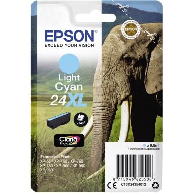 Epson Tintenpatrone 24XL fotocyan