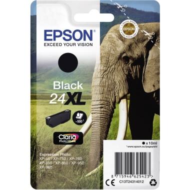 Epson Tintenpatrone 24XL schwarz
