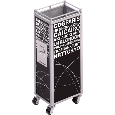 TROIKA® Stifteköcher MINI TROLLEY