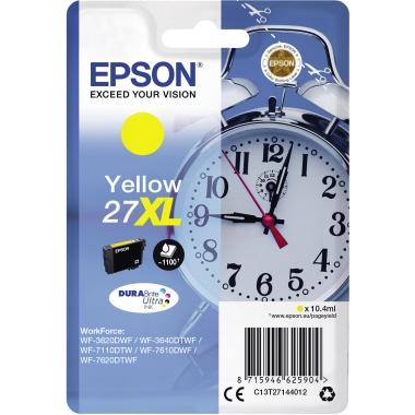 Epson Tintenpatrone 27XL gelb