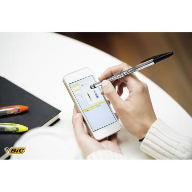 BIC® Einwegkugelschreiber Cristal STYLUS
