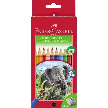 Faber-Castell Farbstift Jumbo  10 St./Pack.