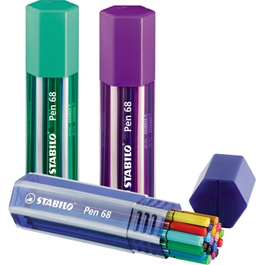 STABILO® Fineliner 68 Big Pen Box
