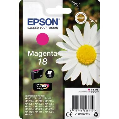 Epson Tintenpatrone  18 magenta