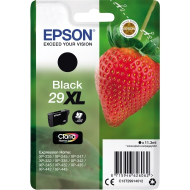 Epson Tintenpatrone 29XL schwarz