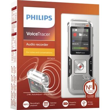 Philips Diktiergerät Digital Voice Tracer DVT 4010