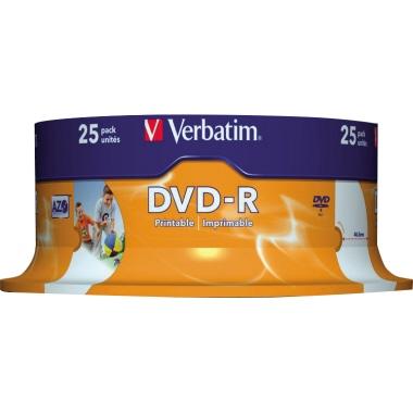 Verbatim DVD-R bedruckbar  Spindel