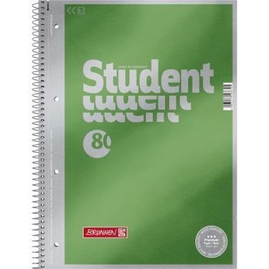 BRUNNEN Collegeblock Student Premium  DIN A4 blanko