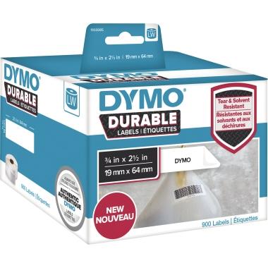 DYMO® Hochleistungsetikett  64 x 19 mm (B x H) 2 x 450 Etik./Pack.