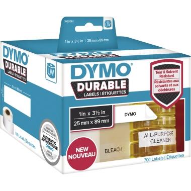DYMO® Hochleistungsetikett  89 x 25 mm (B x H) 2 x 350 Etik./Pack.