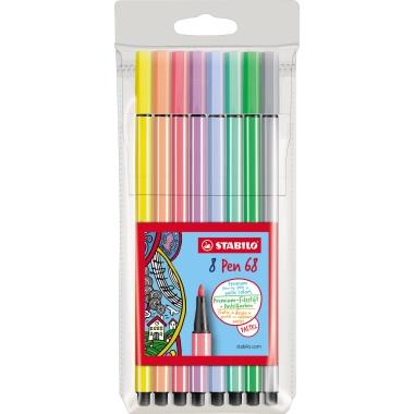STABILO® Fasermaler Pen 68  8 St./Pack.