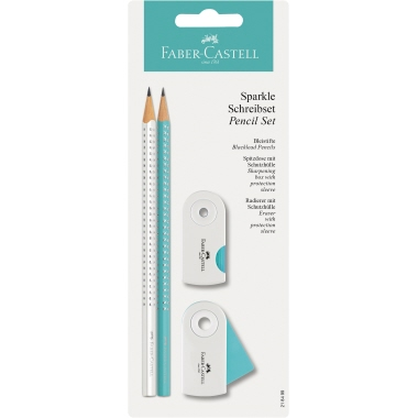 Faber-Castell Bleistiftset SPARKLE