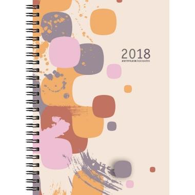 ZETTLER Buchkalender Cristal  1 Woche/2 Seiten