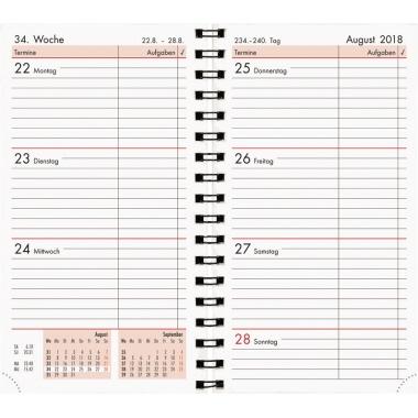 ZETTLER Buchkalender 2018