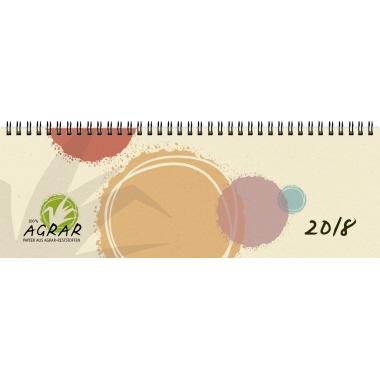 ZETTLER Schreibtischquerkalender 2018