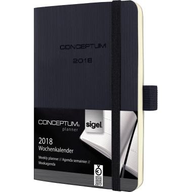 Sigel Buchkalender CONCEPTUM®  DIN A6