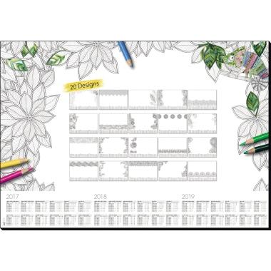 Sigel Schreibunterlage Adult Coloring