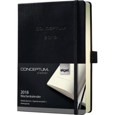 Sigel Buchkalender CONCEPTUM®  DIN A5