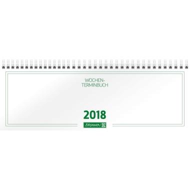BRUNNEN Schreibtischquerkalender  29,7 x 10,5 cm (B x H)