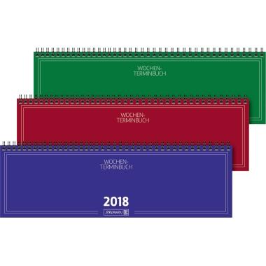 BRUNNEN Schreibtischquerkalender  32,6 x 10,2 cm (B x H)