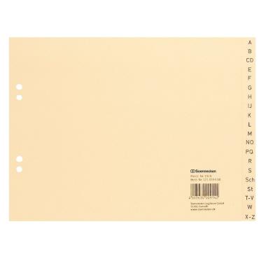 Soennecken A-Z Register 24 x 18 cm (B x H)