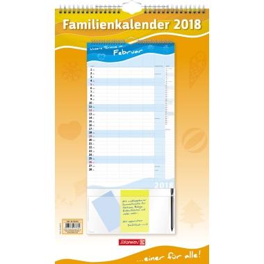 BRUNNEN Familienplaner 2018