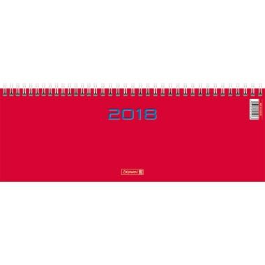 BRUNNEN Schreibtischquerkalender 2018