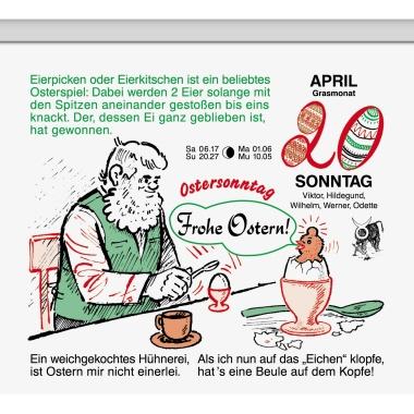 BRUNNEN Abreißkalender Gärtner Pötschke