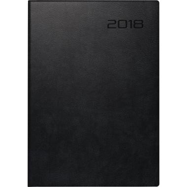 BRUNNEN Buchkalender 2018 schwarz