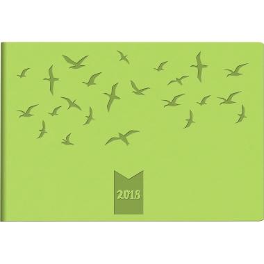 rido/idé Taschenkalender Septimus 2018  Vögel