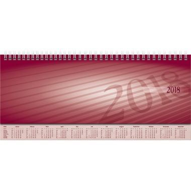 rido/idé Schreibtischquerkalender Sequenz 2018